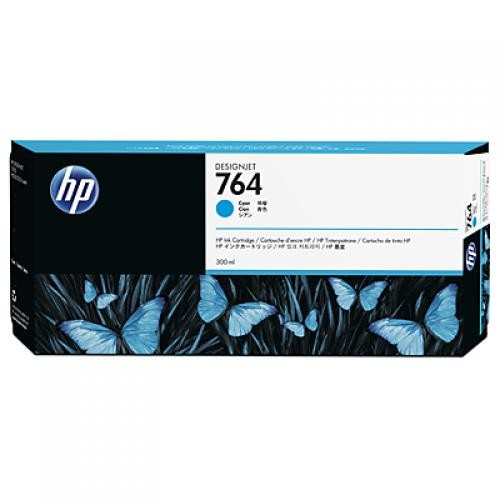 HP Cartuccia inchiostro ciano DesignJet 764, 300 ml cod. C1Q13A