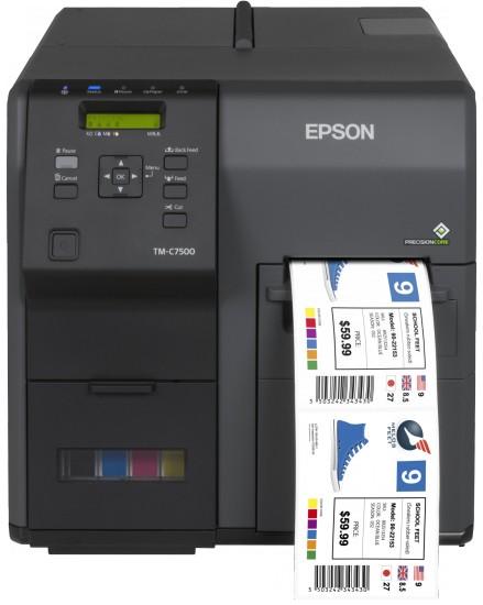 Epson ColorWorks C7500 stampante per etichette (CD) Ad inchiostro 600 x 1200 DPI Cablato cod. C31CD84012