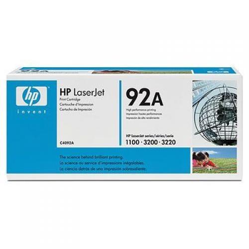 HP 92A Original Nero 1 pezzo(i) cod. C4092A