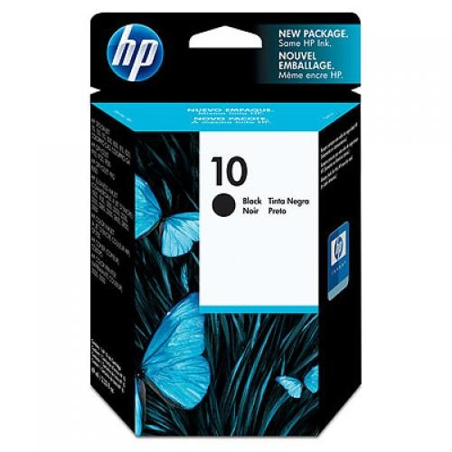HP 10 Black Ink Cartridge - C4844A