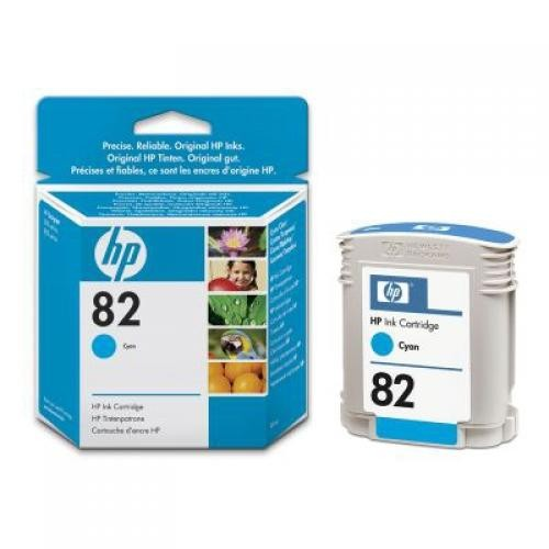 HP 82 69-ml Cyan Ink Cartridge - C4911A