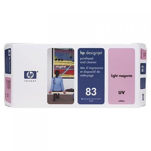 HP Testina di stampa e dispositivi di pulizia UV magenta chiaro 83 cod. C4965A