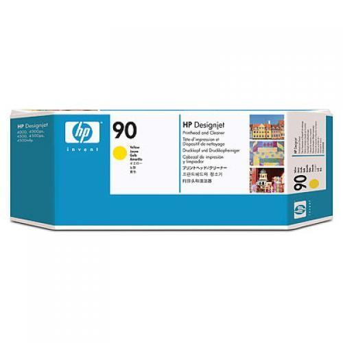 HP Testina di stampa e dispositivi di pulizia giallo DesignJet 90 cod. C5057A