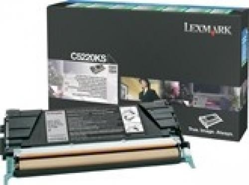 Lexmark C522, C524, C53x Black Return Program Toner Cartridge - C5220KS