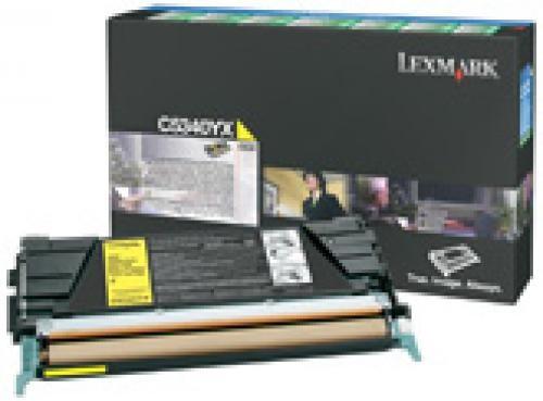 Lexmark C534 7K gele retourprogramma tonercartr. - C5340YX
