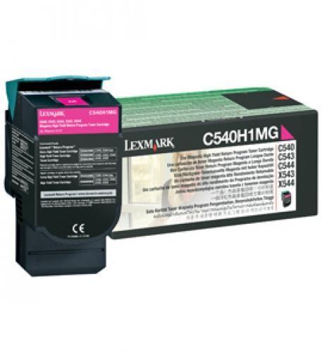 Lexmark C540H1MG cartuccia toner Original Magenta 1 pezzo(i) cod. C540H1MG
