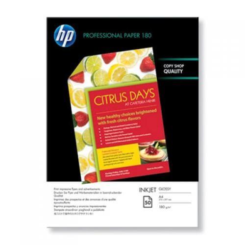HP Confezione da 50 fogli carta professionale lucida per getto d'inchiostro A4/210 x 297 mm cod. C6818A