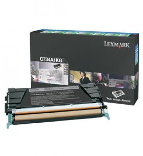 Lexmark C734A1KG cartuccia toner Original Nero 1 pezzo(i) cod. C734A1KG