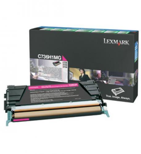 Lexmark C736H1MG cartuccia toner Original magenta 1 pezzo(i) cod. C736H1MG
