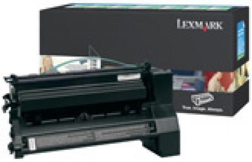 Lexmark C78x, X782e 6K zwarte retourprogr. printcartr. - C780A1KG