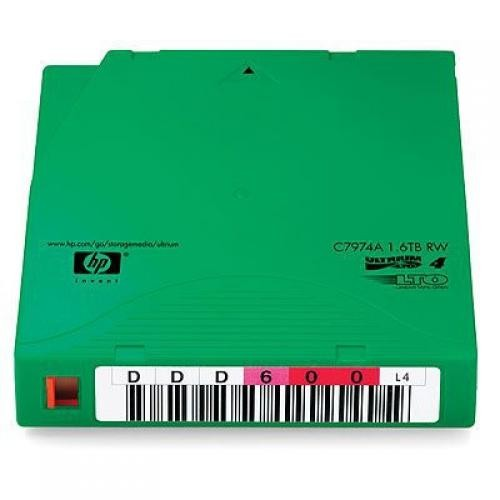 Hewlett Packard Enterprise C7974AN 800GB LTO blank data tape cod. C7974AN