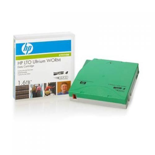 Hewlett Packard Enterprise LTO4 Ultrium 1.6TB WORM LTO cod. C7974W