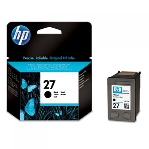 HP 27 Black Inkjet Print Cartridge - C8727AE