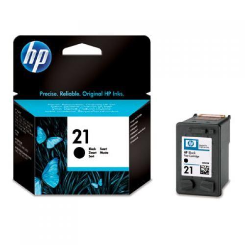 HP 21 Black Inkjet Print Cartridge - C9351AE