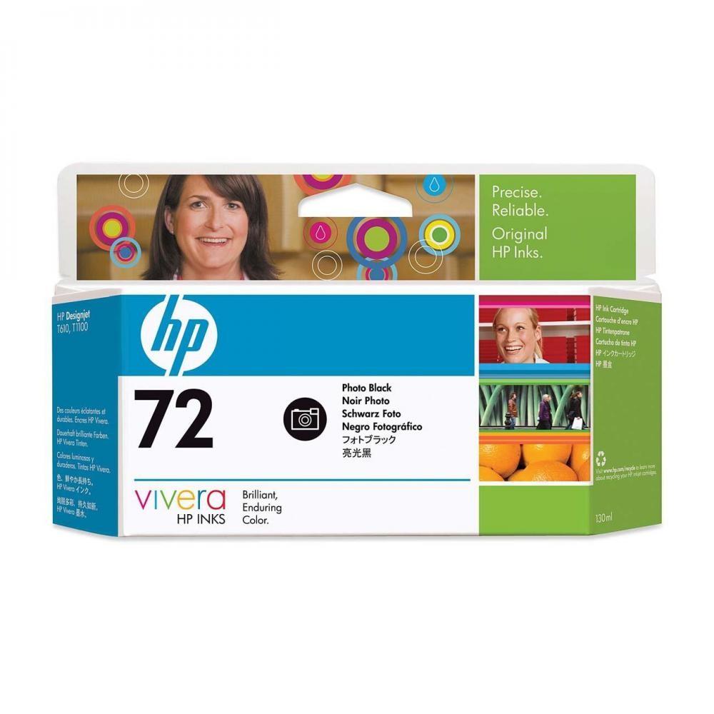 HP 72 130-ml Photo Black Ink Cartridge - C9370A