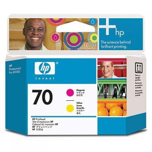 HP Testina di stampa magenta e giallo DesignJet 70 cod. C9406A