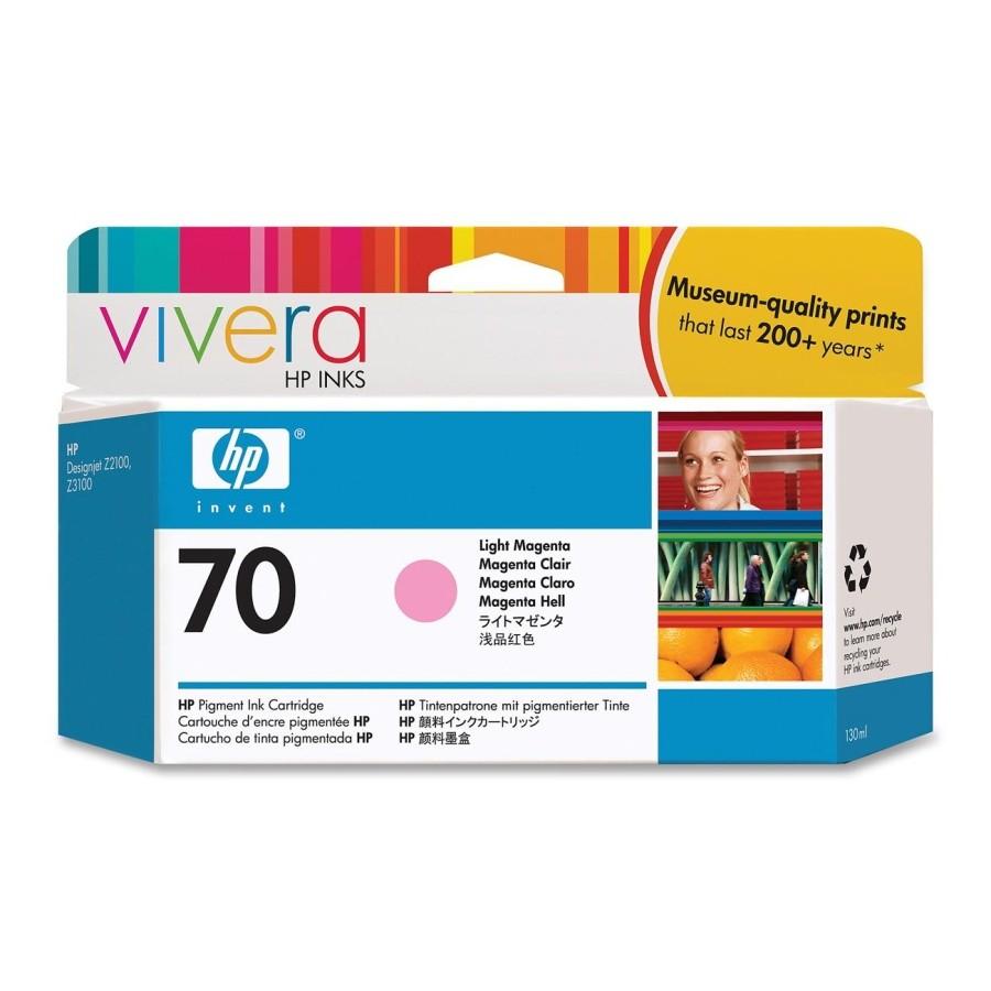 HP Cartuccia inchiostro magenta chiaro DesignJet 70, 130 ml cod. C9455A