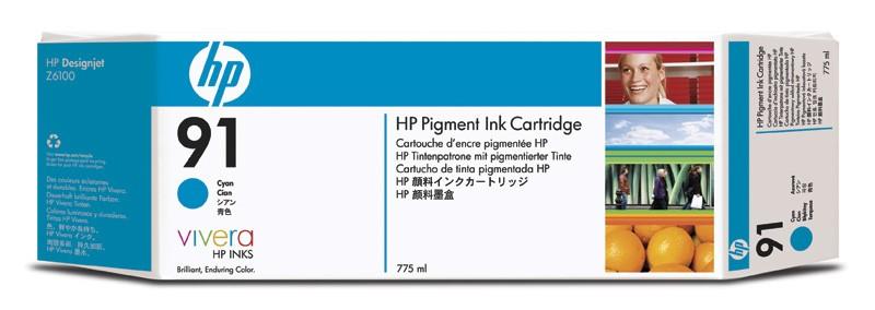 HP 91 Original Ciano 1 pezzo(i) cod. C9467A