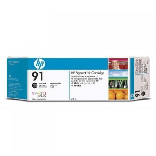 HP 91 3-pack 775-ml Photo Black Ink Cartridges - C9481A