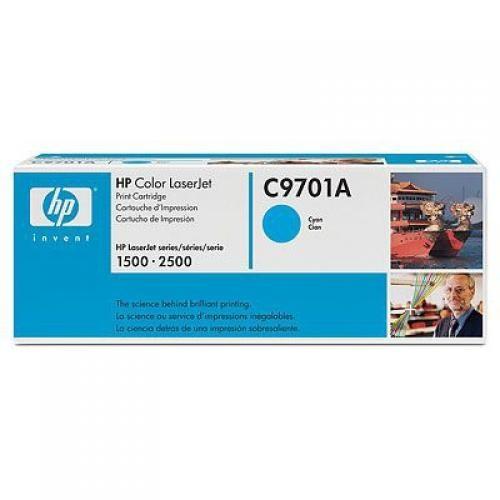 HP Color LaserJet C9701A Cyan Print Cartridge - C9701A