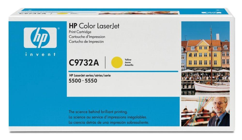 HP 645A Original Giallo 1 pezzo(i) cod. C9732A