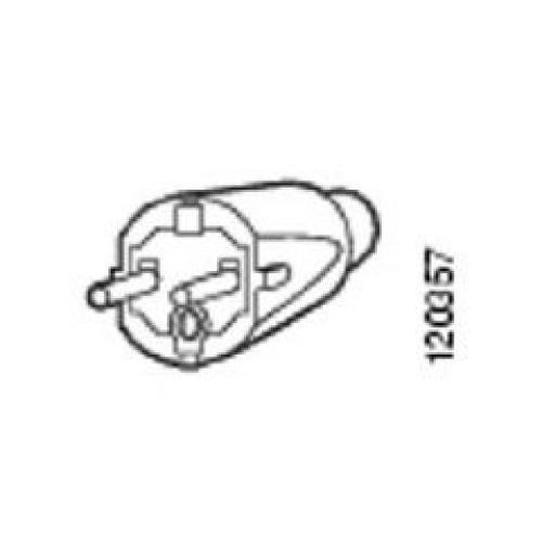 Cisco CAB-AC-2800W-EU= cavo di alimentazione Nero 4 m CEE7/7 Accoppiatore C19 cod. CAB-AC-2800W-EU=