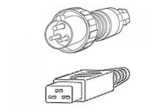 Cisco CAB-AC-2800W-INT= cavo di alimentazione Nero 4,1 m IEC 309 Accoppiatore C19 cod. CAB-AC-2800W-INT=