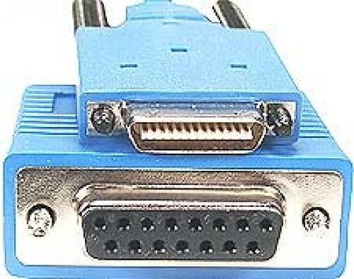 Cisco CAB-SS-X21FC= cavo di rete 3 m Blu cod. CAB-SS-X21FC=
