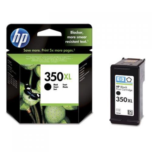 HP 350XL Original Nero per foto 1 pezzo(i) cod. CB336EE