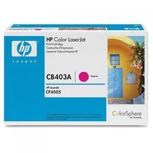 HP Color LaserJet CB403A Magenta Print Cartridge - CB403A