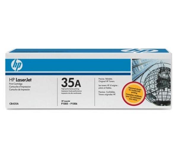 HP LaserJet CB435A Black Print Cartridge - CB435A