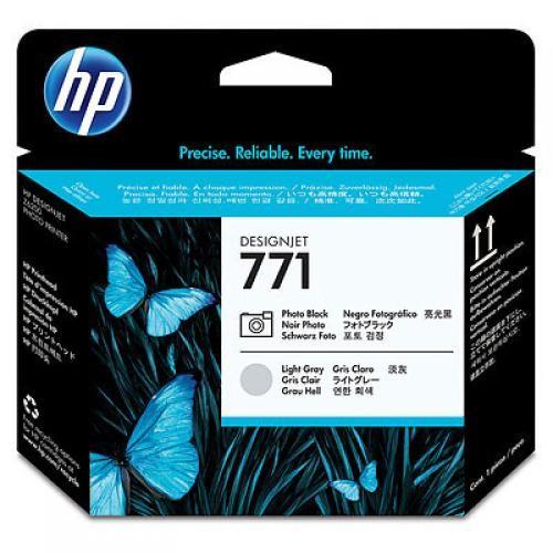HP Testina di stampa nero fotografico/grigio chiaro DesignJet 771 cod. CE020A