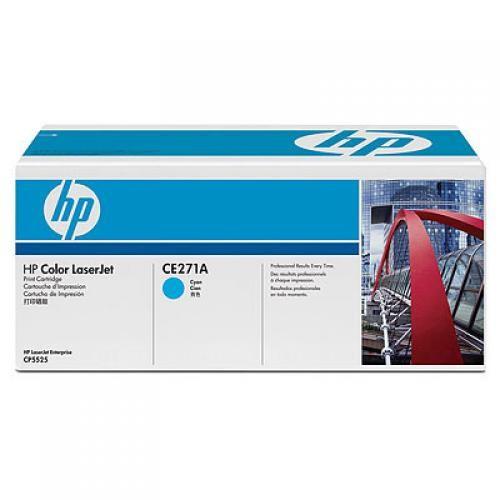HP 650A Cyan LaserJet Print Cartridge - CE271A