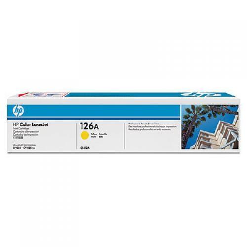 HP 126A Original Giallo 1 pezzo(i) cod. CE312A