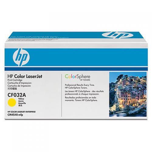 HP Color LaserJet CF032A Yellow Print Cartridge - CF032A