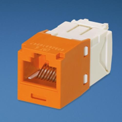 Panduit UTP RJ45 TG-MiniJack Cat6 Orange RJ-45 Arancione cod. CJ688TGOR