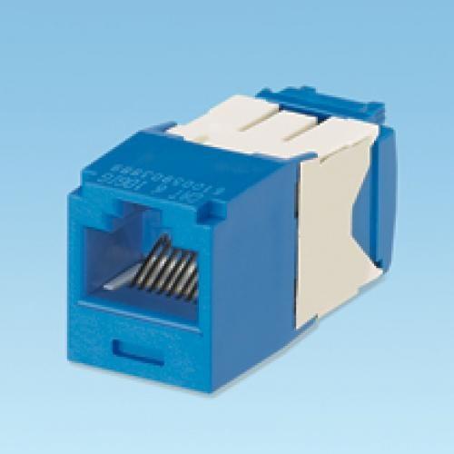 Panduit UTP RJ45 TG-MiniJack Cat6a Blue Blu cod. CJ6X88TGBU
