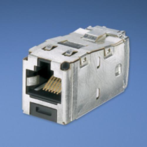 Panduit RJ45 TG-Mini Jack kat 6 Nero, Argento cod. CJS688TGY