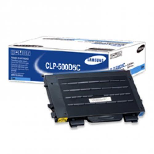 Samsung Cyan Toner - CLP-500D5C/ELS