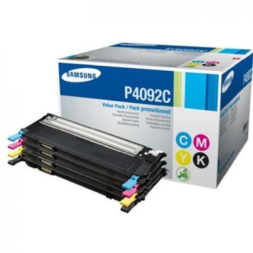 Samsung CLT-P4092C cartuccia toner Original Nero, Ciano, Magenta, Giallo 4 pezzo(i) cod. CLT-P4092C