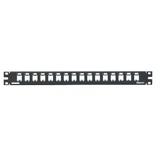 Panduit 16-port metal modular patch panel 1U cod. CP16BLY