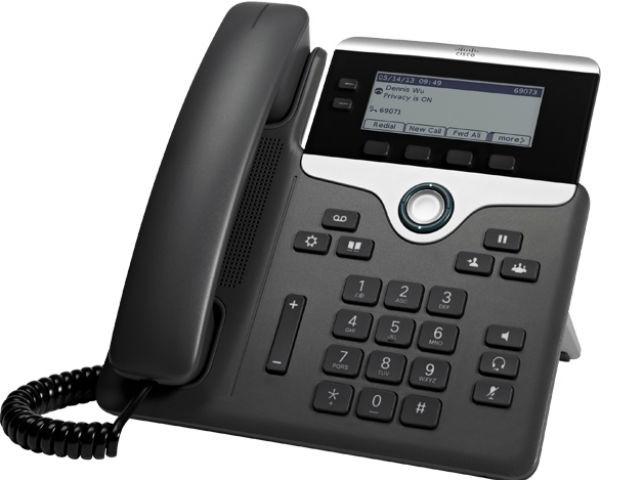 Cisco 7811 telefono IP Nero, Argento Cornetta cablata LED 1 linee cod. CP-7811-K9=