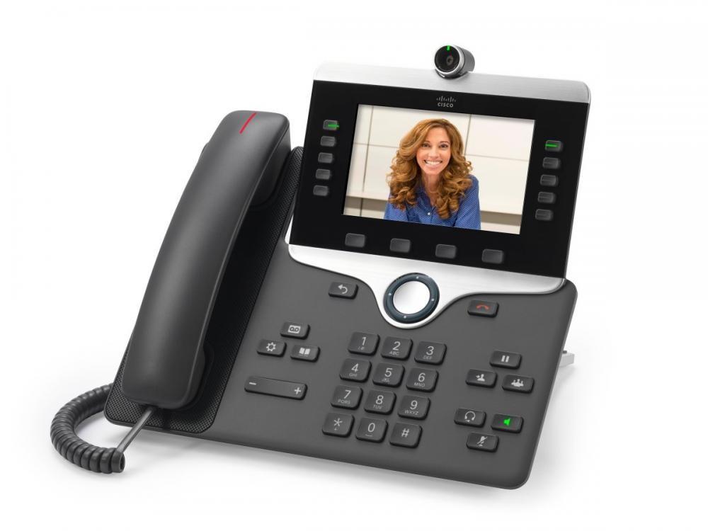 Cisco IP PHONE 8845 telefono IP Antracite Cornetta cablata LCD cod. CP-8845-K9=