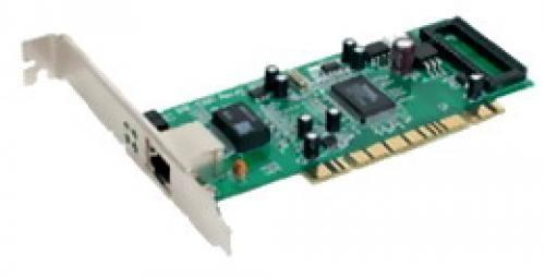 D-Link 32-bit PCI. 10/100/1000Mbps autosense. Full Duplex. TP connector - DGE-528T