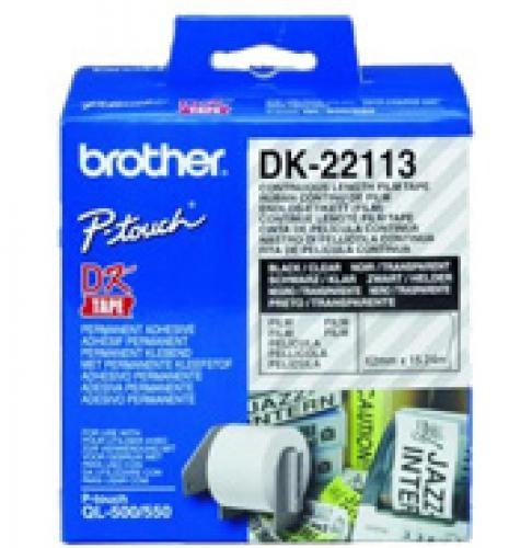 Brother Nastro pellicola a lunghezza continua bianco cod. DK-22113