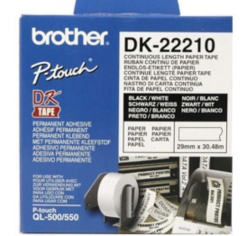 Brother Nastro carta continua cod. DK-22210