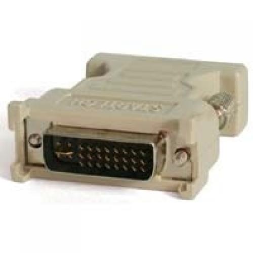 StarTech.com Adattatore DVI a VGA - Cavo Convertitore DVI a VGA - Maschio / Femmina - Nero cod. DVIVGAMF