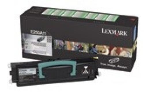 Lexmark E250, E35X 3.5K RP Toner Cartridge - 0E250A11E