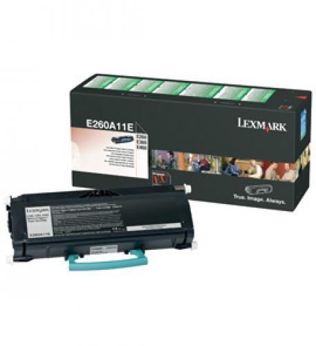Lexmark E260A11E cartuccia toner Original Nero 1 pezzo(i) cod. E260A11E