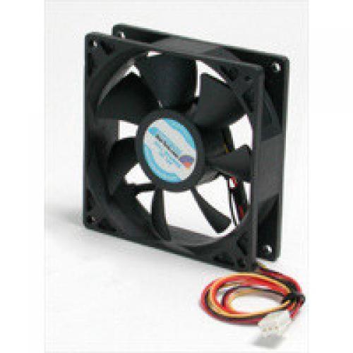 StarTech.com Quiet 9.25cm Dual Ball Bearing Case Fan with TX3 connector - FAN9X25TX3L